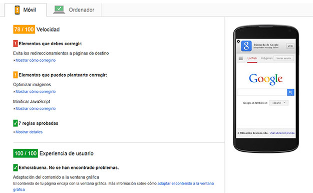 Google speed. WebReunidos