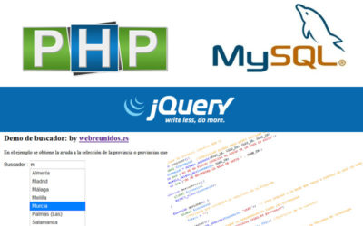 Autocomplete PHP, MySQL y Jquery.