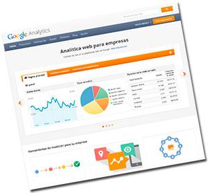 Google analytics. Imagen