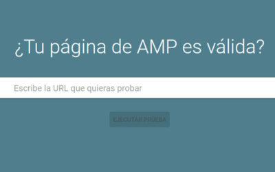 Herramienta AMP de Google
